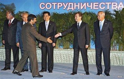 Ahmadinejad and Medvedev met Aug. 28