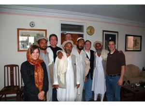 Afghan tribal leaders meet with Joel Rosenberg, Jeremy Grafman of The Joshua Fund, as well as Tom and JoAnn Doyle of e3 Partners