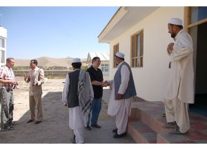 Joel Rosenberg meets with tribal leaders in a village near Kabul