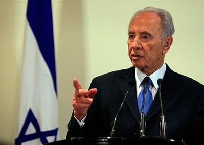 President Shimon Peres announces new elections