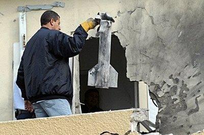 Hamas rocket hits Israeli house