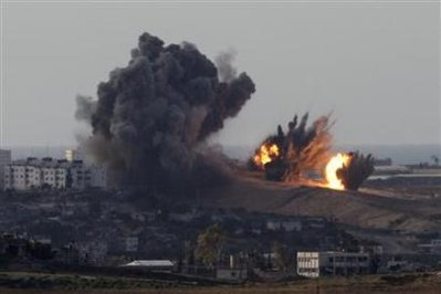 Will Israeli ground forces follow up intense IAF bombing of Gaza?