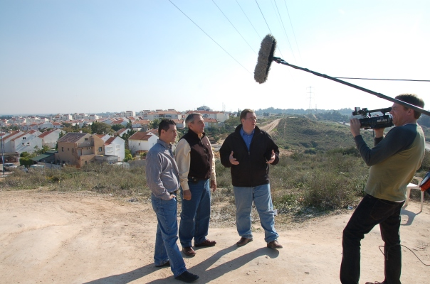 """I interviewed John Moser, Joshua Fund's executive director, and Jeremy Grafman, our Director of Special Projects, for a documentary film project we're working on called """"Operation Epicenter."""""""