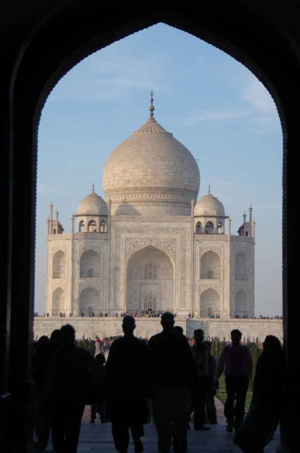 It's impossible to describe just how beautiful the Taj Mahal is. You've just got to see it to believe it.