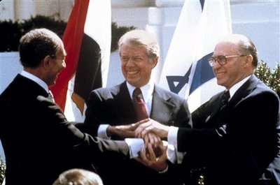 Israel and Egypt signed an historic peace treaty on March 26, 1979