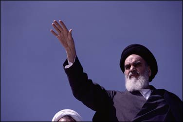 The grandson of the Khomeinis is denouncing the Iranian Revolution.