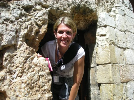 Amy Knapp, a founding Joshua Fund board member, in Israel, a country she loved dearly.