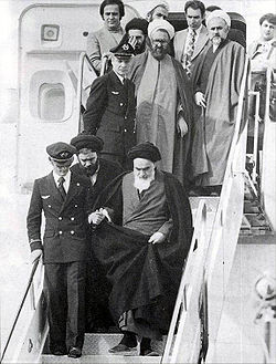 The Ayatollah Khomeini returned to Iran from exile on February 1, 1979
