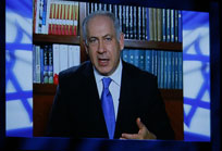 Prime Minister Netanyahu addressed AIPAC by satellite