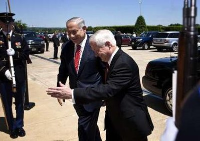PM Netanyahu also met today with Defense Secretary Robert Gates on the Iran issue.
