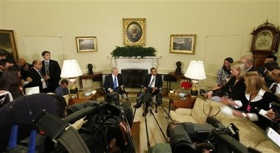 President Obama and Prime Minister Netanyahu met in the Oval Office to discuss Iran and the peace process.