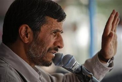 Does Iranian President Mahmoud Ahmadinejad still have the support of the country's Supreme Leader?