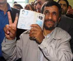 "Apocalypse Now? If Ahmadinejad has ""won"" in a landslide, look for him to indicate the Mahdi gave him victory."