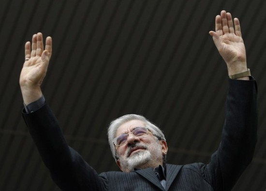 Main challenger: Iran's former Prime Minister Mir-Hossein Mousavi is no moderate Reformer, despite media reports.