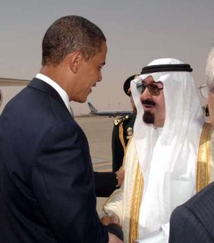 President Obama meets today with Saudi King Abdullah