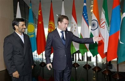 Shanghai Cooperation Organization meetings are underway in Moscow..
