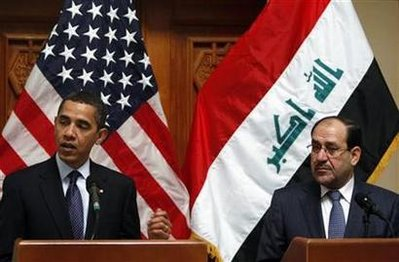 Iraqi Prime Minister Nouri al-Maliki meets today at the White House with President Obama.