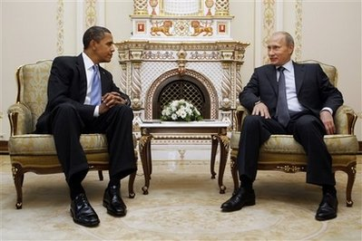 President Obama meets with Czar Putin, to little apparent effect.