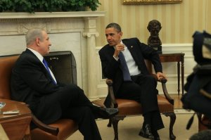 The biblical story of Esther became part of the Oval Office dialogue today. (photo by Doug Mills, NYT)