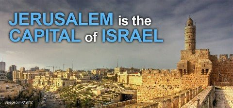 NOTE TO WHITE HOUSE: JERUSALEM IS THE ETERNAL CAPITAL OF ...
