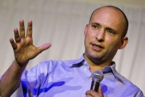Naftali Bennett, rising star in Israeli politics.