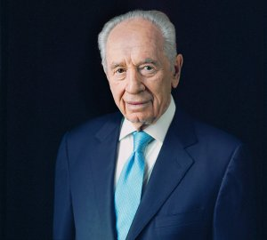 Shimon Peres. (photo credit: Michal Chelbin for The New York Times)