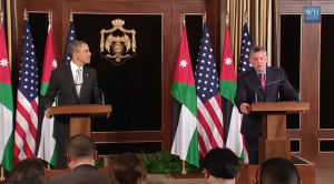 Press conference with President Obama and Jordanian King Abdullah II. (White House video)