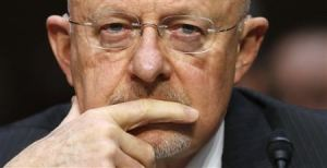 "Director of National Intelligence James Clapper testifies before a Senate Intelligence Committee hearing on ""Current and Projected National Security Threats to the United States"" on Capitol Hill in Washington March 12, 2013. (Reuters/Kevin Lamarque)"