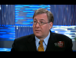 """Discussing """"What is the future of Syria?"""" with CBN's Erick Stakelbeck."""