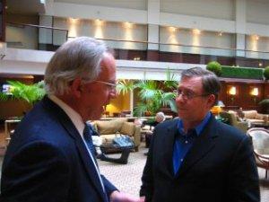 Interviewing former CIA Director Porter Goss.