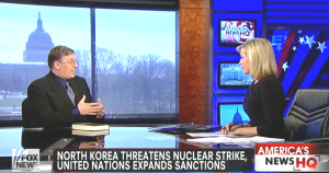 Fox News interview about Iran-North Korea nuclear connection and President Obama's trip to Israel.