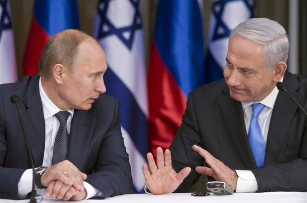 Putin and Netanyahu (file photo)