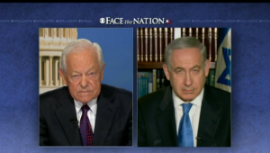 "The Israeli PM appeared on CBS's ""Face The Nation"" on Sunday to discuss the Iran threat."