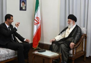 The alliance between Iran's Ayatollah Khamenei and Syrian President Bashar al-Assad is closer than ever.