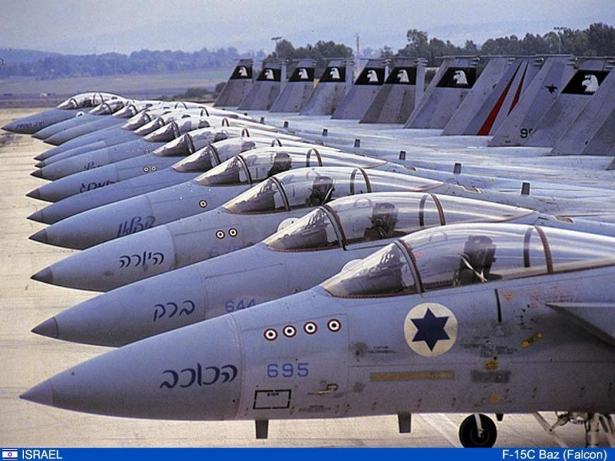 israel-lineoffighterjets