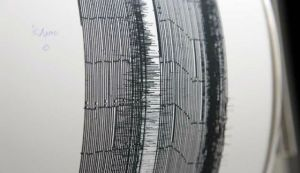 Israeli seismographs records 5th earthquake in five days. (photo credit: Alon Ron)