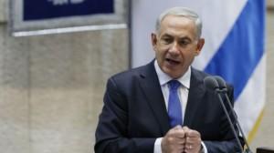 Prime Minister Benjamin Netanyahu addresses the Knesset plenum (photo credit: Miriam Alster/Flash90)