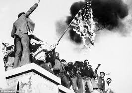 Iranian students seized the U.S. embassy in Tehran on November 4, 1979.