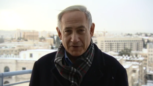 """Israel's Prime Minister wishes """"Merry Christmas"""" to Christians around the world."""