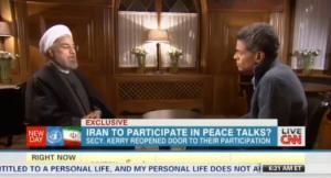 CNN's Fareed Zakaria interviews Iranian President Hassan Rouhani.