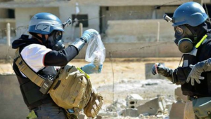 UN weapons inspectors in Syria. (photo: AP)