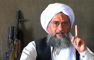 Ayman al-Zawahiri, the Egyptian-born leader of al Qaeda.