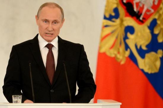 Putin's Anschluss of Crimea.