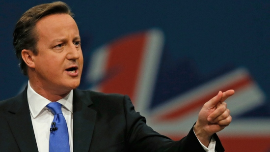 British PM David Cameron warns ISIS wants to hit England.
