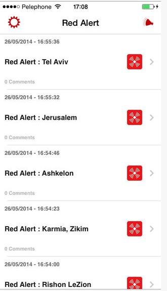 RedAlert-app