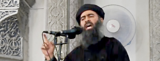 Abu Bakr al-Baghdadi, the self-proclaimed caliph of the Islamic State, is driven by an End of Days vision. (photo credit: Associated Press)