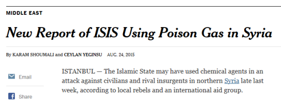 Actual NYT headline from August 24, 2015.