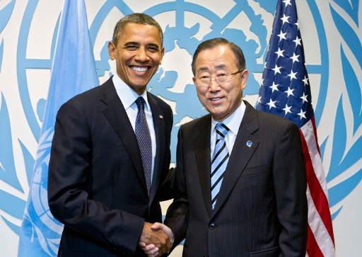president obama and un secretary general ban ki moon believe the iran deal will bring