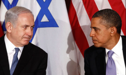 obama-netanyahu-flags