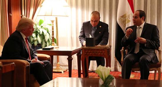 Trump-el-Sisi
